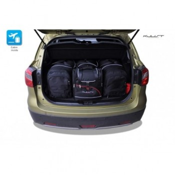 Tailored suitcase kit for Suzuki SX4 Cross (2013 - Current)
