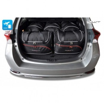 Tailored suitcase kit for Toyota Auris Touring (2013 - Current)