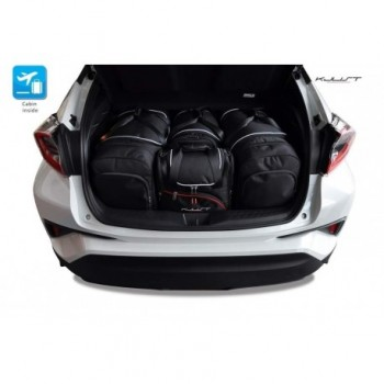 Tailored suitcase kit for Toyota C-HR