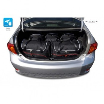 Tailored suitcase kit for Toyota Corolla (2007 - 2012)