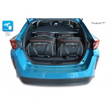 Tailored suitcase kit for Toyota Prius (2016 - Current)