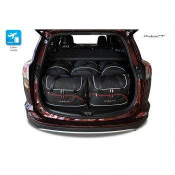 Tailored suitcase kit for Toyota RAV4 (2013 - Current)
