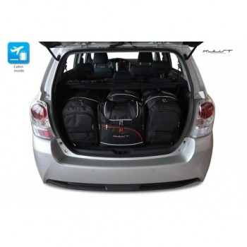 Tailored suitcase kit for Toyota Verso (2009 - 2013)
