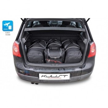 Tailored suitcase kit for Volkswagen Golf 5 (2004 - 2008)