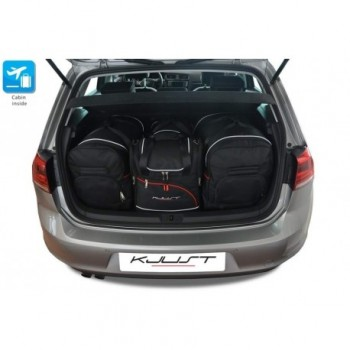 Tailored suitcase kit for Volkswagen Golf Sportsvan