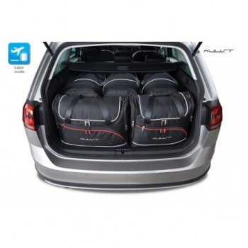 Tailored suitcase kit for Volkswagen Golf 7 touring (2013 - Current)