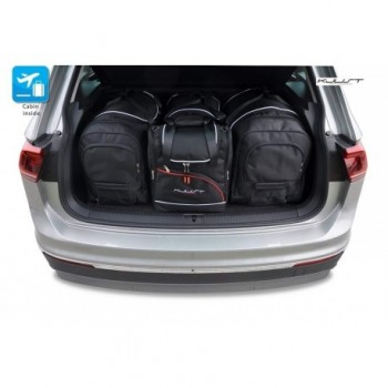 Tailored suitcase kit for Volkswagen Tiguan (2016 - Current)
