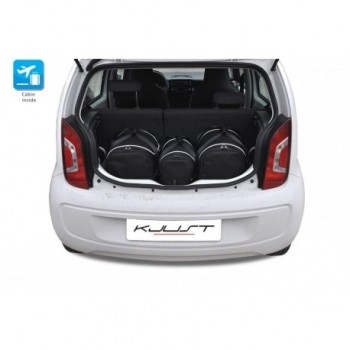 Tailored suitcase kit for Volkswagen Up (2011 - 2016)