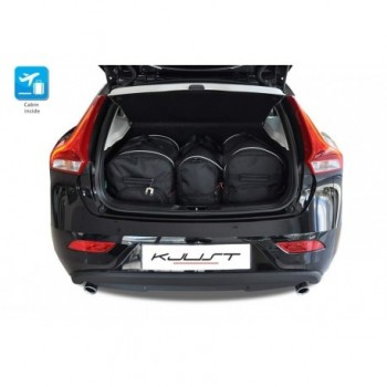 Tailored suitcase kit for Volvo V40 (2012-Current)
