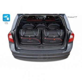 Tailored suitcase kit for Volvo V70 (2007 - 2016)