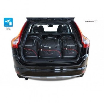 Tailored suitcase kit for Volvo XC60 (2008 - 2017)