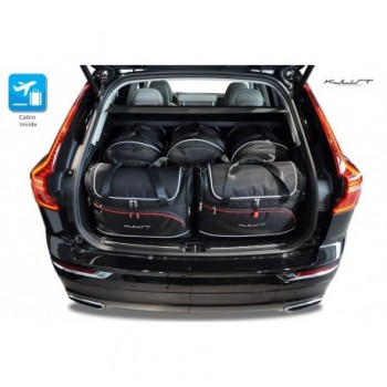 Tailored suitcase kit for Volvo XC60 (2017 - Current)