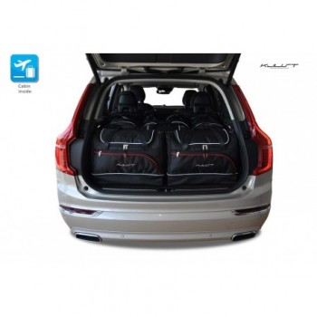 Tailored suitcase kit for Volvo XC90 5 seats (2015 - Current)