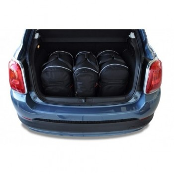Tailored suitcase kit for Fiat 500 X (2015 - Current)