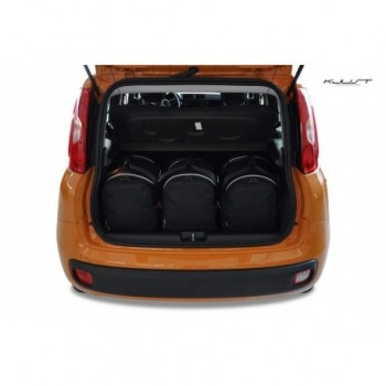 Tailored suitcase kit for Fiat Panda 319 (2012 - 2016)