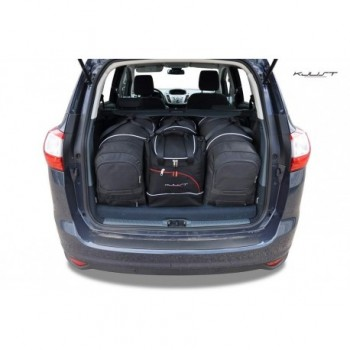 Tailored suitcase kit for Ford C-MAX Grand (2010 - 2015), 7 seats