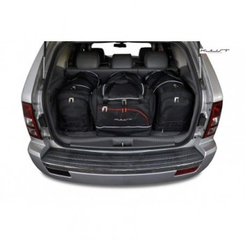 Tailored suitcase kit for Jeep Grand Cherokee WK (2005 - 2010)