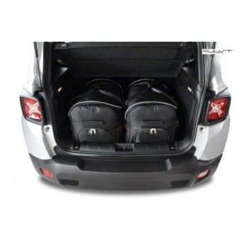 Tailored suitcase kit for Jeep Renegade