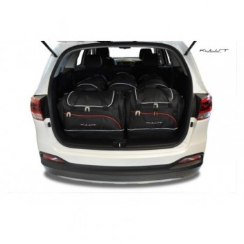 Tailored suitcase kit for Kia Sorento 7 seats (2015 - Current)