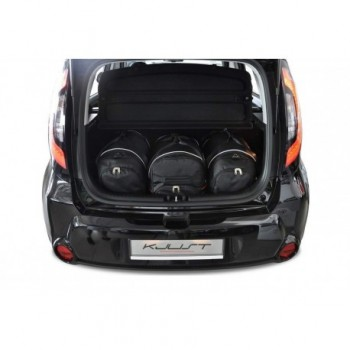 Tailored suitcase kit for Kia Soul (2014 - Current)