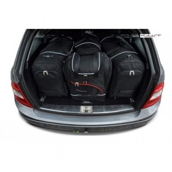 Tailored suitcase kit for Mercedes C-Class S204 touring (2007 - 2014)