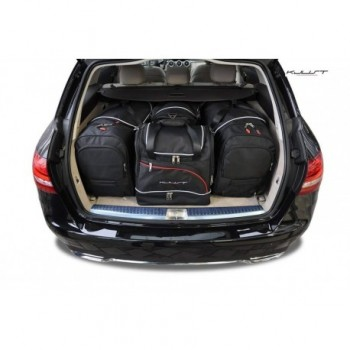 Tailored suitcase kit for Mercedes C-Class S205 touring (2014 - Current)