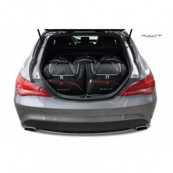 Tailored suitcase kit for Mercedes CLA X117 touring (2015 - 2018)