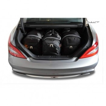 Tailored suitcase kit for Mercedes CLS C218 Restyling Coupé (2014 - 2018)