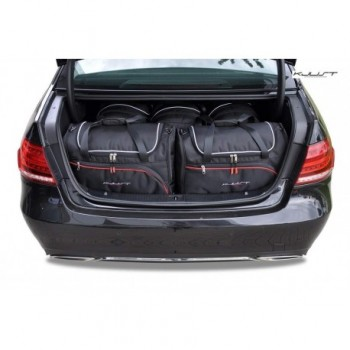 Tailored suitcase kit for Mercedes E-Class W212 Restyling Sedan (2013 - 2016)