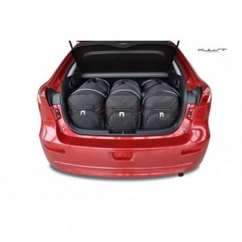 Tailored suitcase kit for Mitsubishi Lancer 8, Sportback (2007-2016)