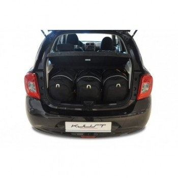 Tailored suitcase kit for Nissan Micra (2011 - 2013)