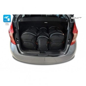 Tailored suitcase kit for Nissan Note (2013 - Current)