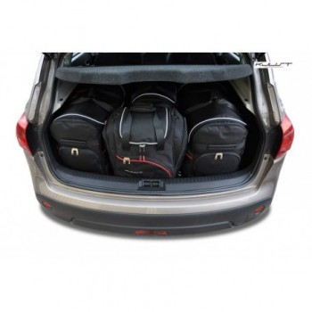 Tailored suitcase kit for Nissan Qashqai (2007 - 2010)