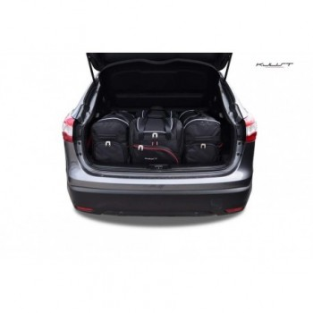Tailored suitcase kit for Nissan Qashqai (2014 - 2017)