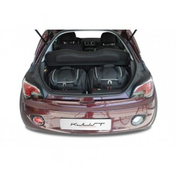 Tailored suitcase kit for Opel Adam