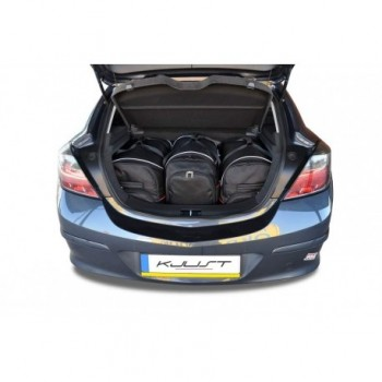 Tailored suitcase kit for Opel Astra H, 3 doors (2004 - 2010)