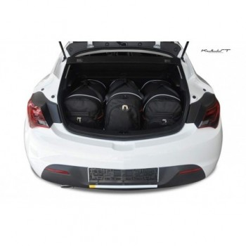 Tailored suitcase kit for Opel Astra J, 3 doors (2009 - 2015)