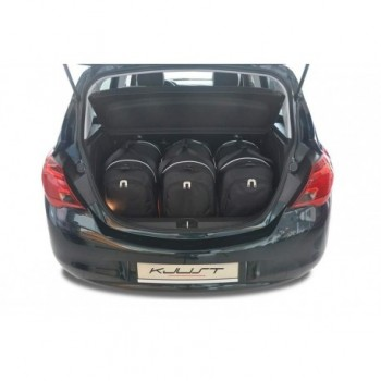 Tailored suitcase kit for Opel Corsa E (2014 - 2019)