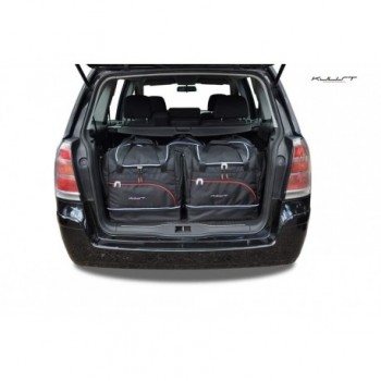 Tailored suitcase kit for Opel Zafira B 5 seats (2005 - 2012)