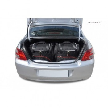 Tailored suitcase kit for Peugeot 301, (2012-2016)