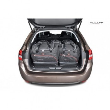 Tailored suitcase kit for Peugeot 308 Ranchera (2013 - Current)