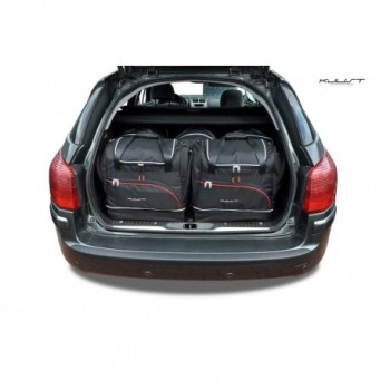 Tailored suitcase kit for Peugeot 407 touring (2004 - 2011)