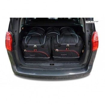 Tailored suitcase kit for Peugeot 5008 5 seats (2009 - 2017)