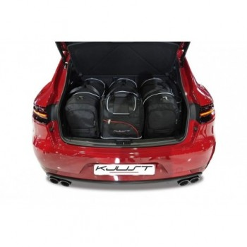 Tailored suitcase kit for Porsche Macan