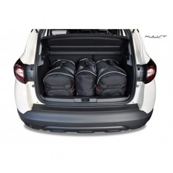 Tailored suitcase kit for Renault Captur Restyling (2017 - Current)