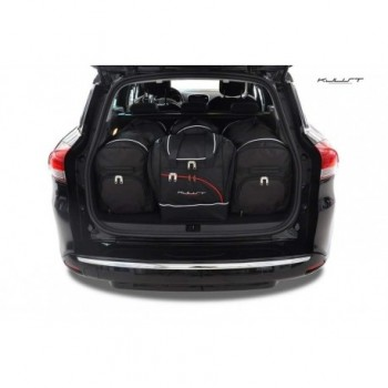 Tailored suitcase kit for Renault Clio Sport Tourer (2012-2016)