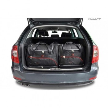 Tailored suitcase kit for Skoda Superb touring (2008 - 2015)