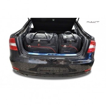 Tailored suitcase kit for Skoda Superb Sedan (2008 - 2015)