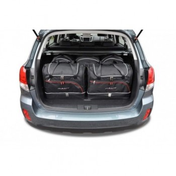 Tailored suitcase kit for Subaru Outback (2009 - 2015)
