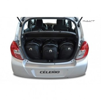 Tailored suitcase kit for Suzuki Celerio